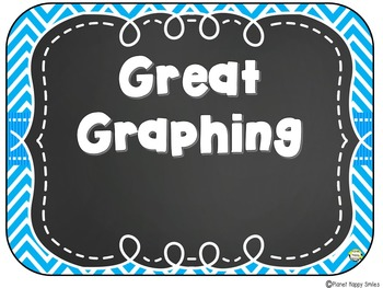 Yes/No Graph Daily Questions in an Aqua and Chalkboard Theme ~ EDITABLE