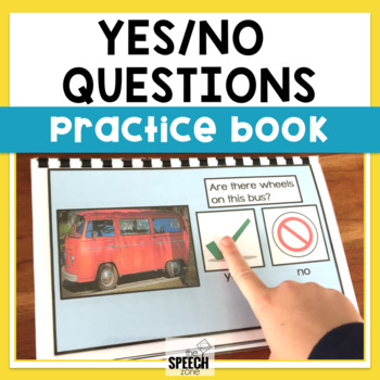 Yes/No Question Practice Book With Real Pictures