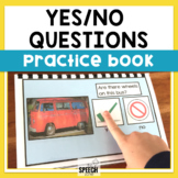 Yes/No Questions Practice Book