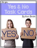 Yes/No Question Task Cards {Do you...}