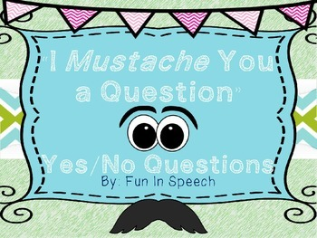 Yes / No  Questions Activity Cards
