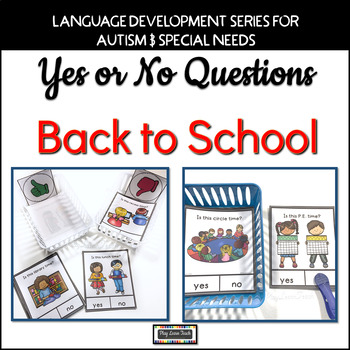 Yes No Questions Back to School