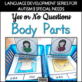 Yes No Questions Body Parts Autism Special Education Speech Therapy