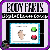 Yes/No Questions: Body Parts Boom Cards (Distance Learning)