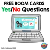 Yes/No Questions Boom Cards Freebie