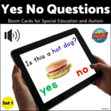 Yes No Questions BOOM CARDS™ Set 1