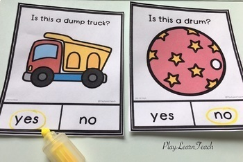 Yes No Questions Bundle 1 Autism Special Education Speech Therapy
