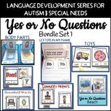 Yes No Questions Autism Bundle 1