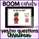 Yes No Questions: Christmas: Boom Cards