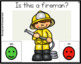 Yes/No Questions: Community Helpers Theme Task Cards