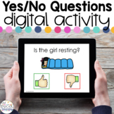 Yes/No Questions FREEBIE - Digital Activity for Special Education