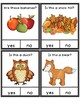 Yes No Questions Fall Autumn - Autism Beginning of the Year Activities