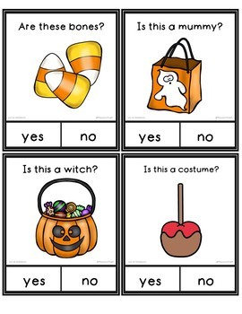 Yes No Questions Halloween