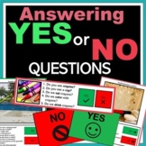 Yes No Questions (Speech Therapy) (ABA)
