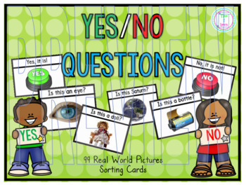 Yes/No Questions Sorting Game