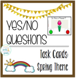 Yes/No Questions: Spring Theme Task Cards
