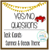 Yes/No Questions: Summer/Ocean Theme Task Cards