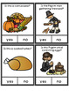 Yes No Questions Thanksgiving - Autism, Special Education, Speech Therapy