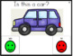 Yes/No Questions: Transportation Theme Task Cards
