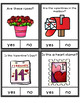 Yes No Questions Valentine's Day for Autism Special Education Speech Therapy