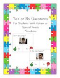 Yes No Questions for Autism or Special Needs- Emotions
