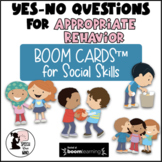Yes No Questions for Behavior Boom Cards™ - Social Skills