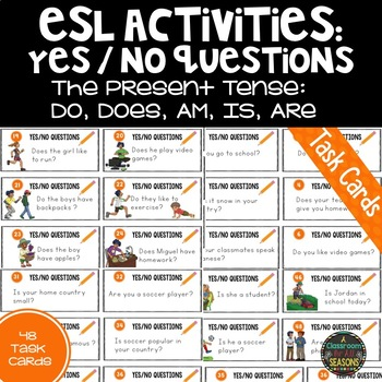 Yes No Questions for ESL