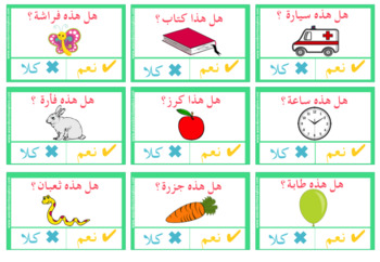 Yes/No Questions in Arabic