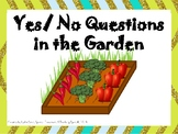 Yes/No Questions in the Garden - Negation, Vegetable Garden theme