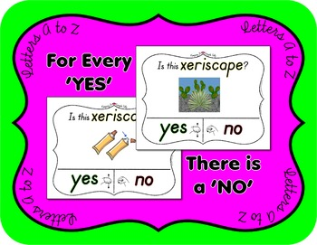 Yes No Questions w/ Visuals ~ Alphabet Bundle ~ Huge 30+% Savings