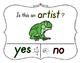 Yes No Questions with Visuals ~ Letter A Sound / Sight Recognition Speech