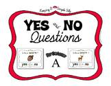 Yes No Questions with Visuals ~ Letter A Sound / Sight Rec