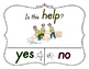 Yes No Questions with Visuals ~ Letter H Sound / Sight Recognition Speech
