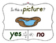 Yes No Questions with Visuals ~ Letter P Sound / Sight Rec