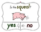 Yes No Questions with Visuals ~ Letter Q Sound / Sight Recognition Speech