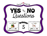 Yes No Questions with Visuals ~ Letter S Sound / Sight Recognition Speech