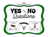 Yes No Questions with Visuals ~ Letter V Sound / Sight Rec