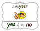 Yes No Questions with Visuals ~ Letter Y Sound / Sight Recognition Speech