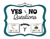 Yes No Questions with Visuals ~ Letter Y Sound / Sight Rec
