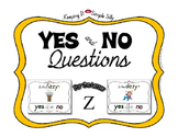 Yes No Questions with Visuals ~ Letter Z Sound / Sight Rec