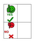 Yes/No visual