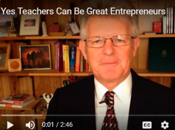 Yes, Teachers Can be Great Entrepreneurs