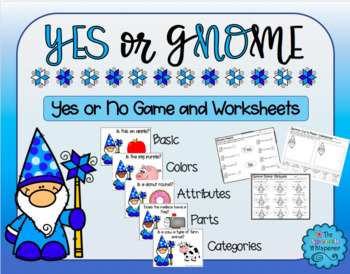 Yes or Gnome: Activities for Speech Therapy