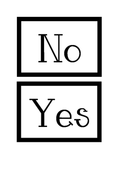 Yes or No Addition and Subtraction Sort