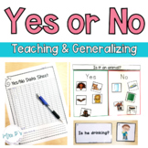 Yes or No: Answering questions (Special Education & Autism