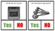 Yes or No Cooking Tool Task Cards