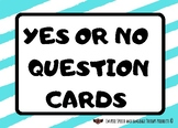 Yes or No Question Cards