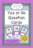 Yes or No Question Cards Phonics Phase 3 Set 10 - oo or ar ur
