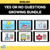 Yes or No Questions Boom Card Growing Bundle