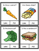 Yes No Questions Food for Autism Special Education Speech Therapy